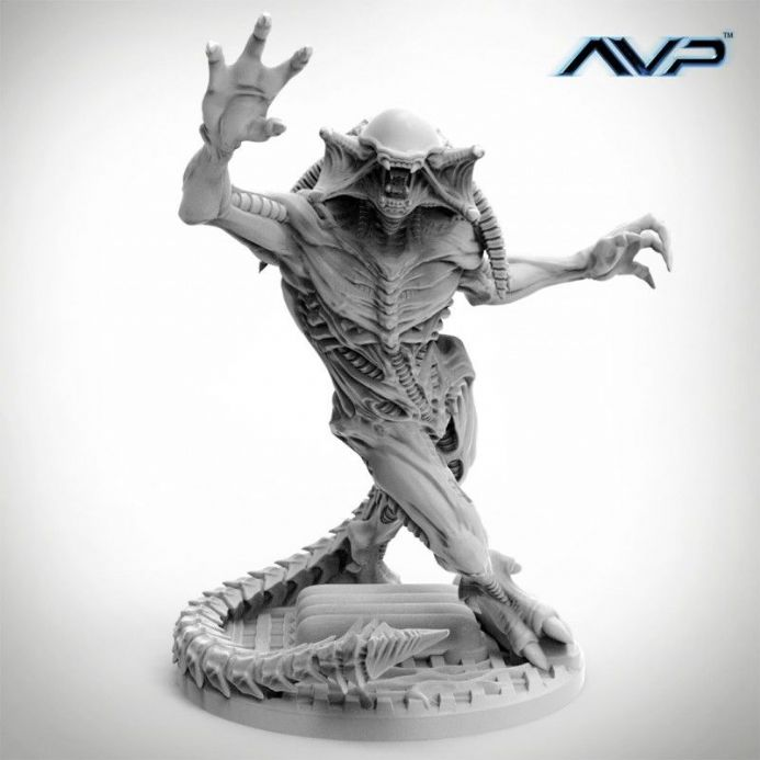 AvP: The Hunt Begins – Predalien Unicast Edition | Buy now at The G33Kery - UK Stock - Fast Delivery